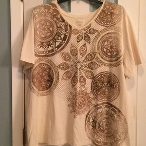 Catherine's Sparkling Medallion Top